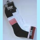 Носки TSP черно-белые