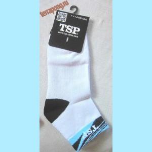 Носки TSP белые с черными вставками