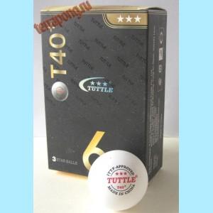 Мячи пластиковые Tuttle T40+ 3***