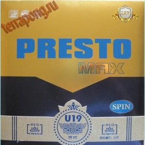 Накладка 729 Presto Max Spin