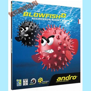 Накладка Andro Blowfish+