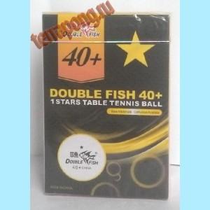 Мячи пластиковые Double Fish 1*